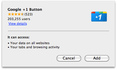 Chrome插件内联安装图片